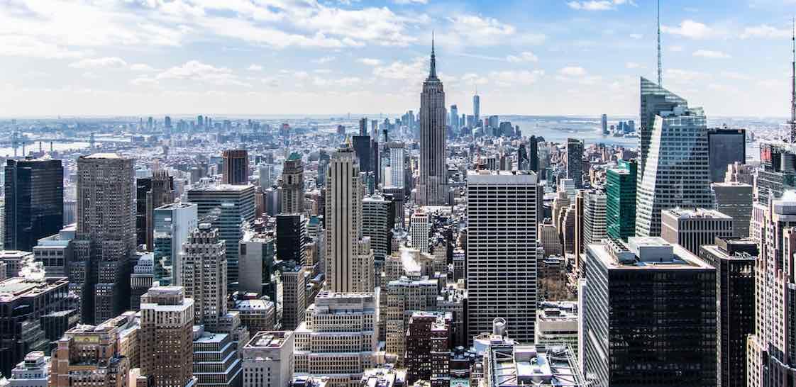 Nueva York Centro Blockchain pexels