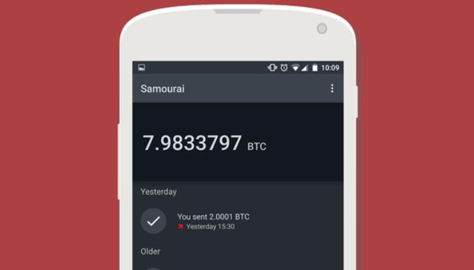 Samourai wallet googleplay