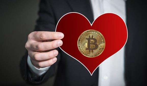 bitcoin enamorados canva pixabay